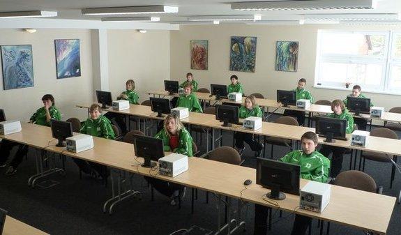 Počítačová učebna - Český Dub